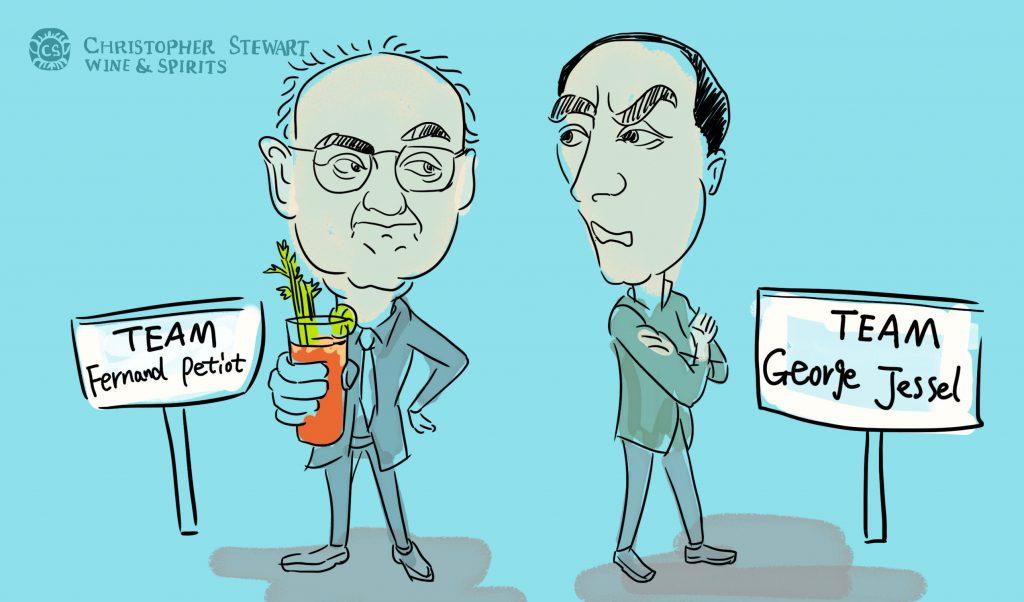 George Jessel & Fernad Peroit